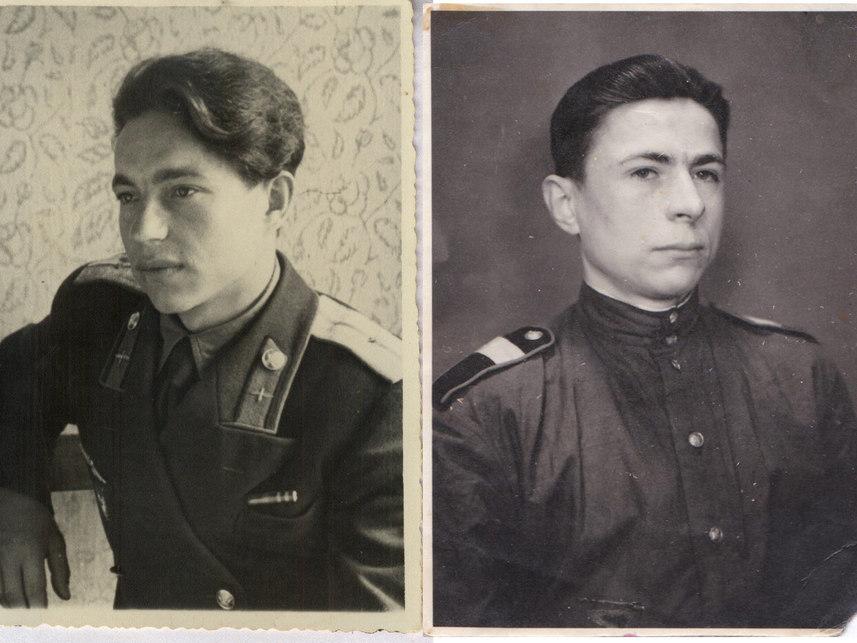 Бельтюковы Егор, Николай и Василий