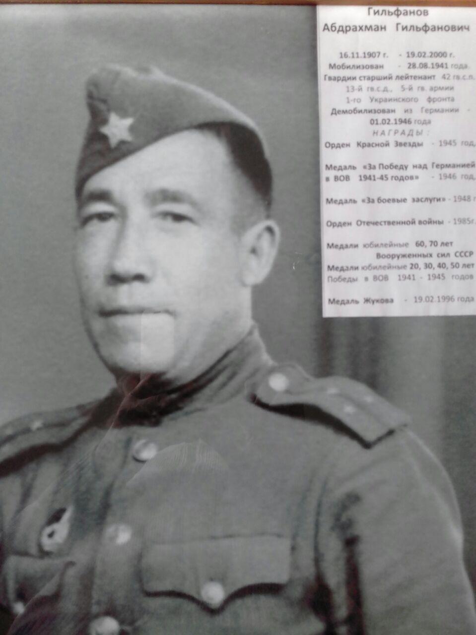 Гильфанов Абдрахман